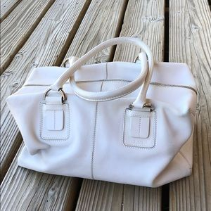 HP! RARE Tod's Vintage Leather Bowler Satchel!